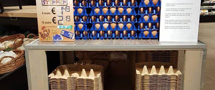 Stipkipeieren bij Jumbo Heeswijk-Dinther